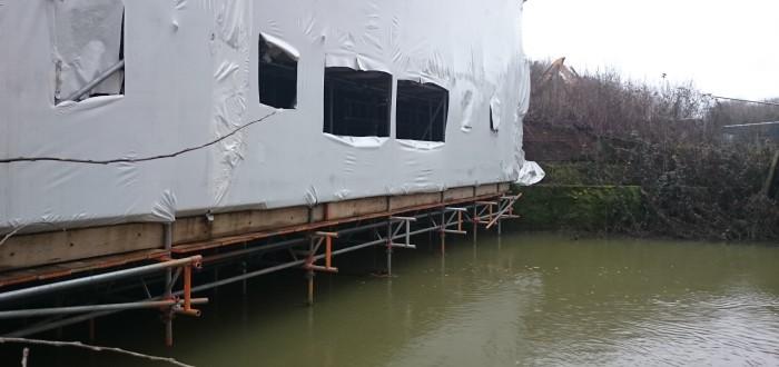 Bridge scaffold